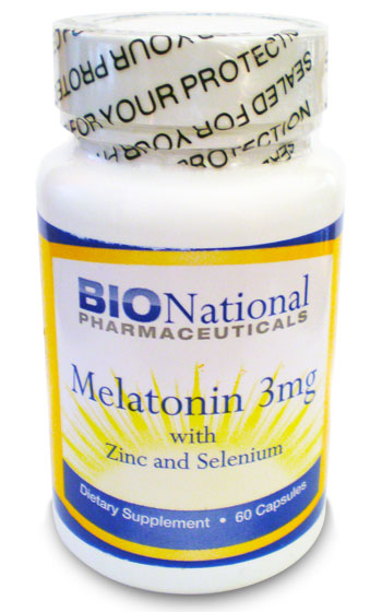 Melatonin Zn Se